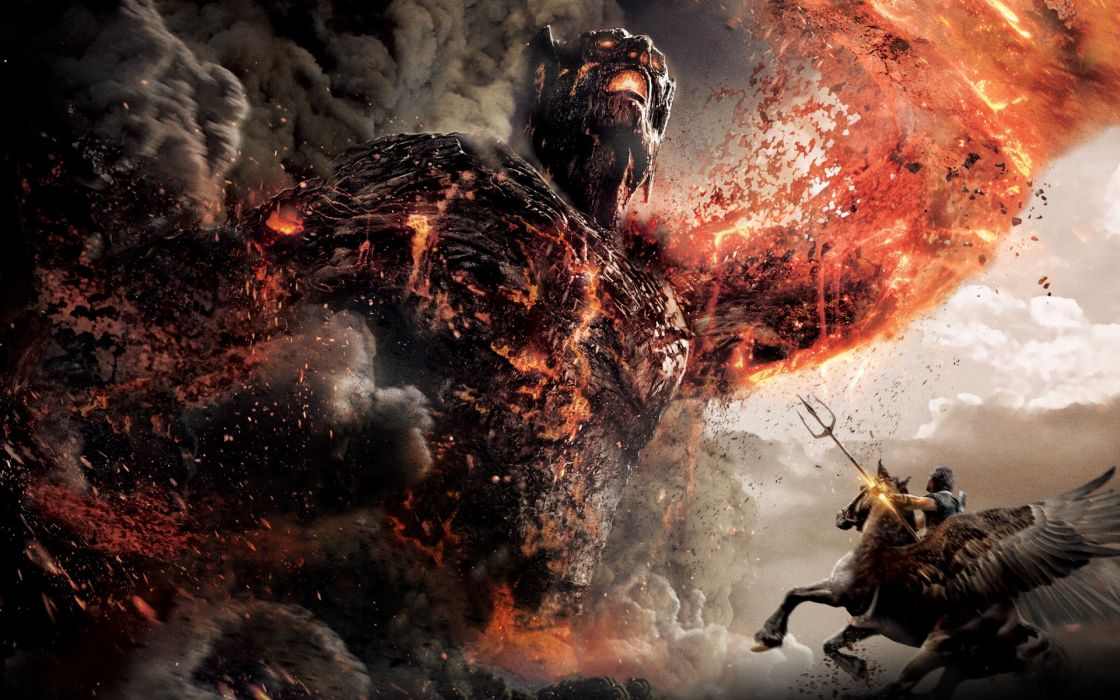 Movies wrath of the titans kronos peliculas wallpaper