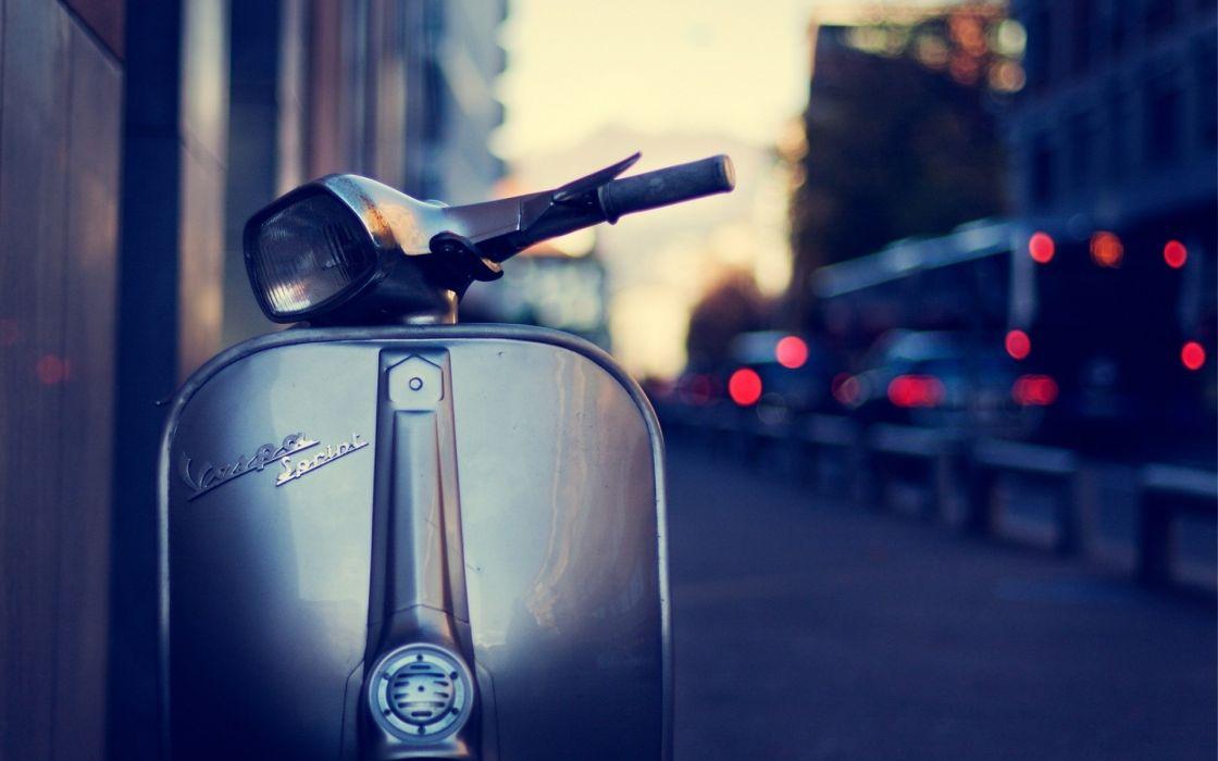 Cityscapes vespa motorbikes vespa sprint wallpaper