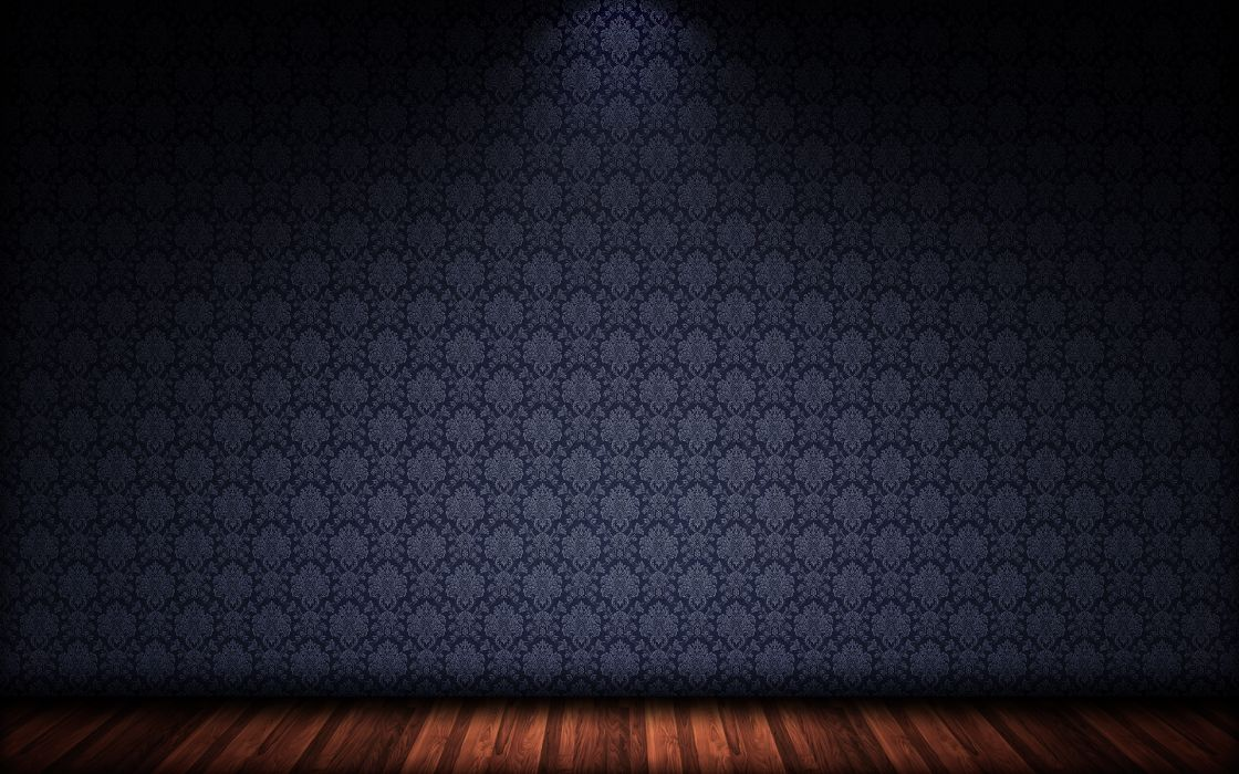 Floor 3d view minimalistic wall room patterns wood floor wallpaper