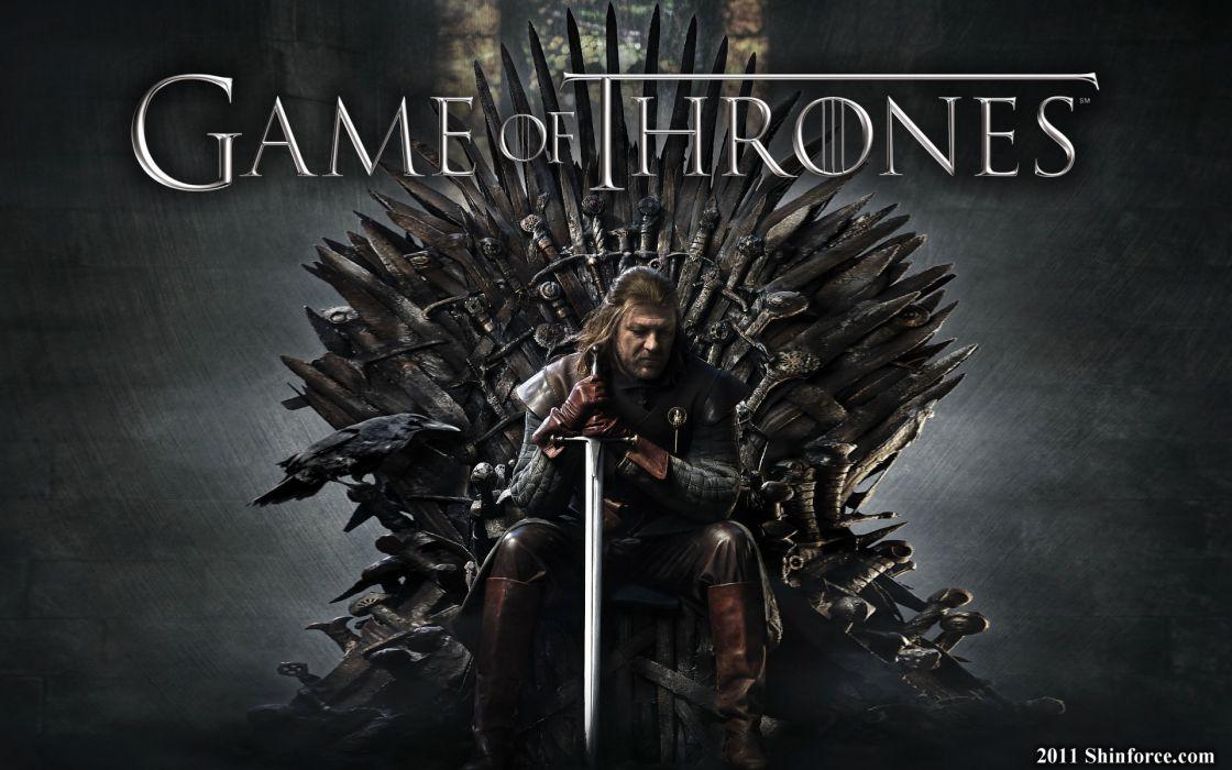 Throne game of thrones sean bean tv series eddard 'ned' stark swords house stark iron throne wallpaper
