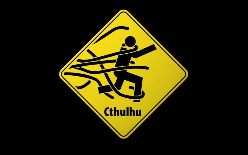 Signs cthulhu funny wrong wallpaper