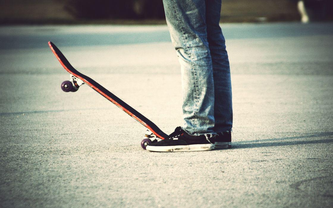 Jeans skateboards wallpaper