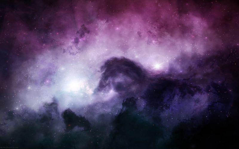 Outer space stars nebulae horsehead nebula wallpaper