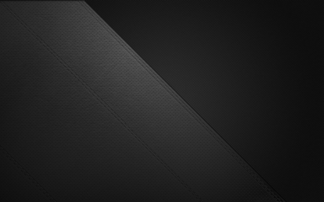 Leather Stitch Double Stitch Carbon Fiber Wallpaper