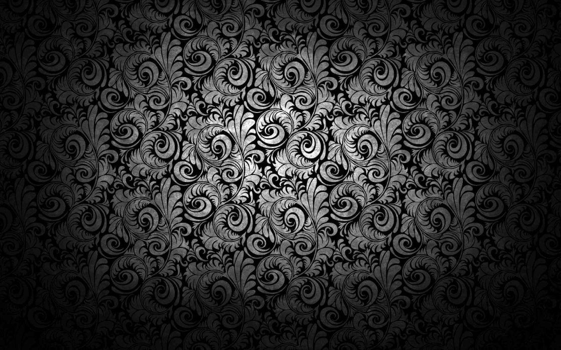 Abstract artwork ornaments wallpaper