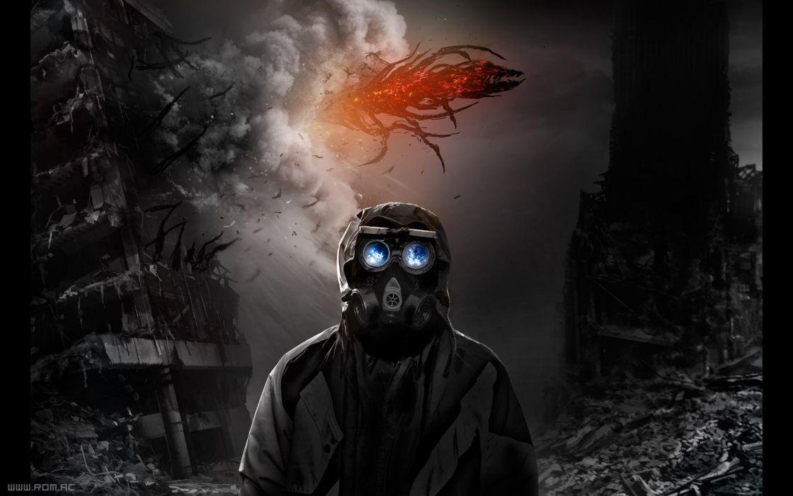 Explosions boom aliens post apocalyptic romantically apocalyptic vitaly s alexius mr wallpaper