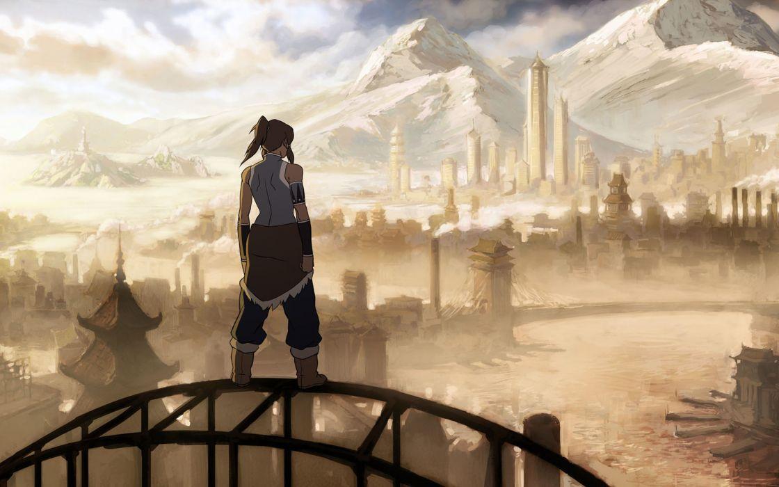 Korra  avatar the legend of korra wallpaper