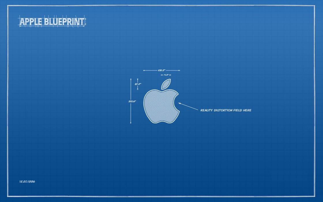 Blue apple inc wallpaper