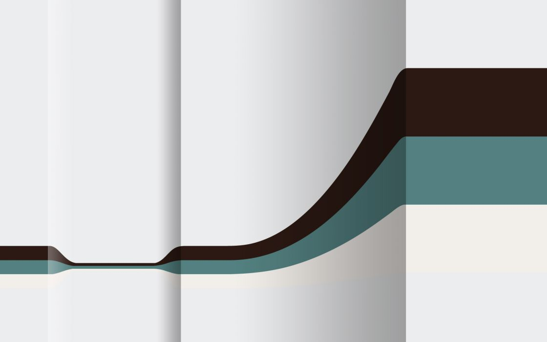 Minimalistic digital vector wallpaper