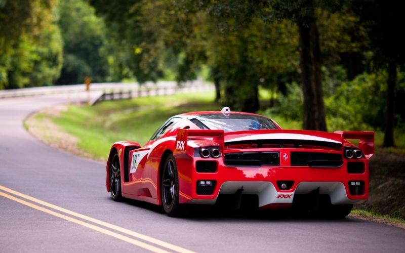 Cars ferrari italian vehicles supercars ferrari fxx red cars wallpaper