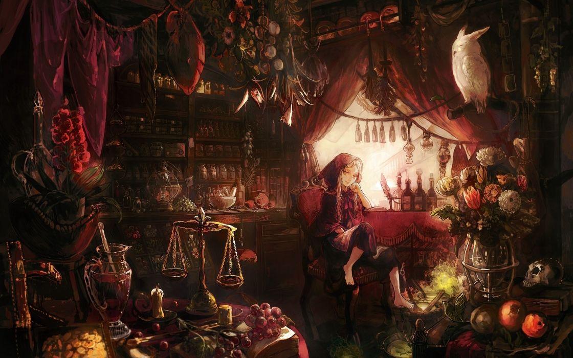 Little Red Riding Hood Artwork Anime S Wallpaper