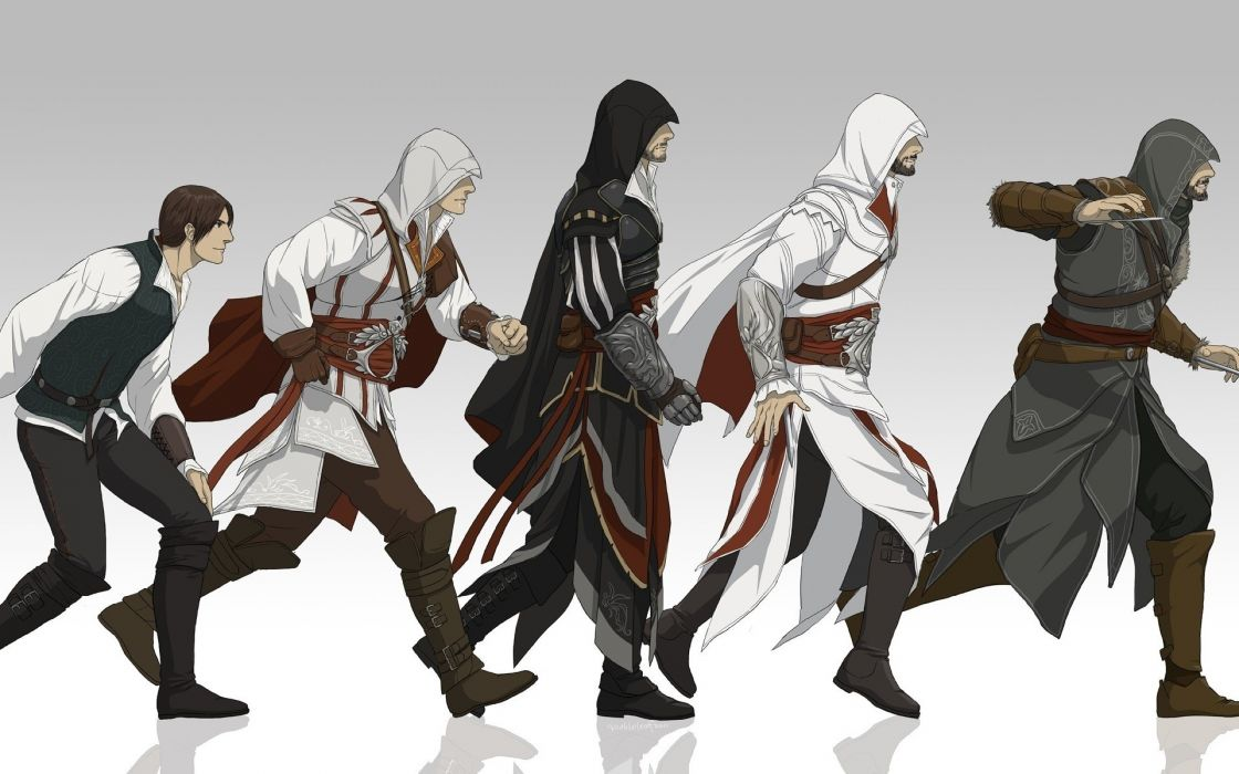 Assassins creed assassins ezio auditore wallpaper