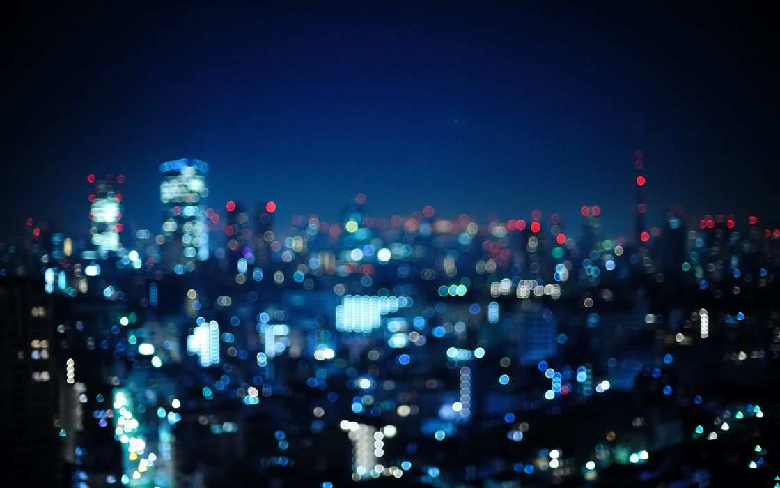 Japan tokyo cityscapes bokeh cities out of focus wallpaper