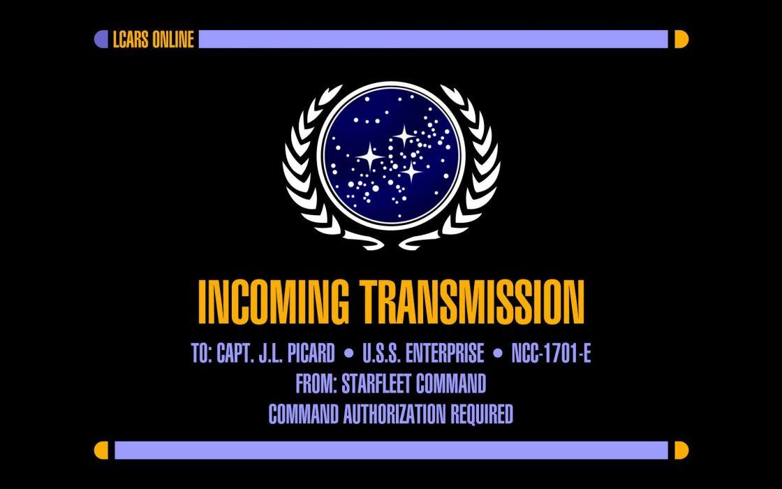 Star trek jean-luc picard screen united federation of planets star trek logos wallpaper