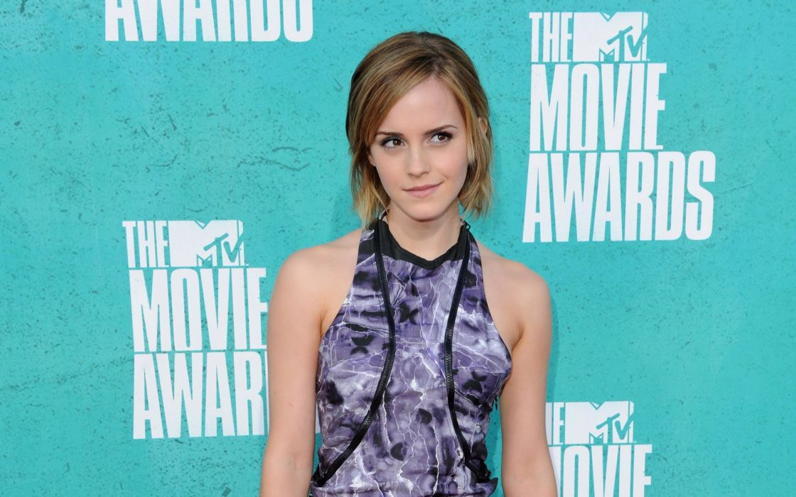 Brunettes women emma watson dress celebrity mtv red carpet zippers wallpaper