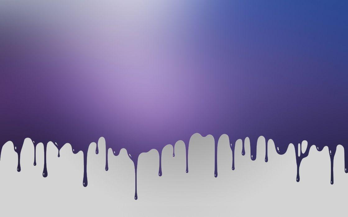 Design purple paint creative wallpaper