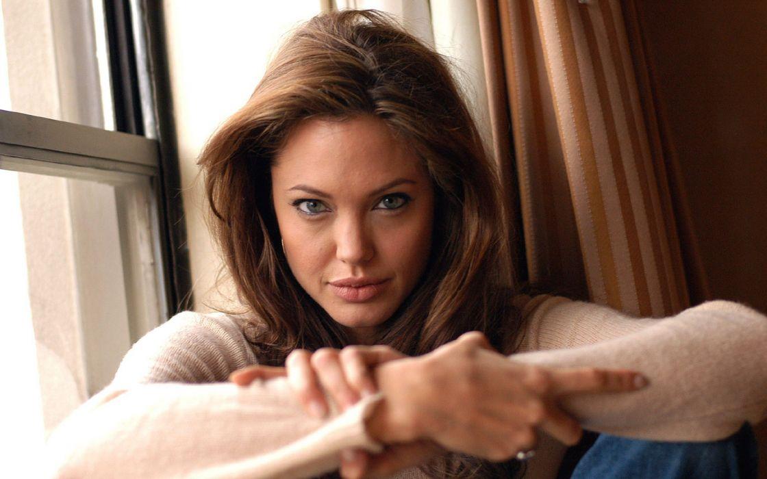 Women actress angelina jolie celebrity wallpaper
