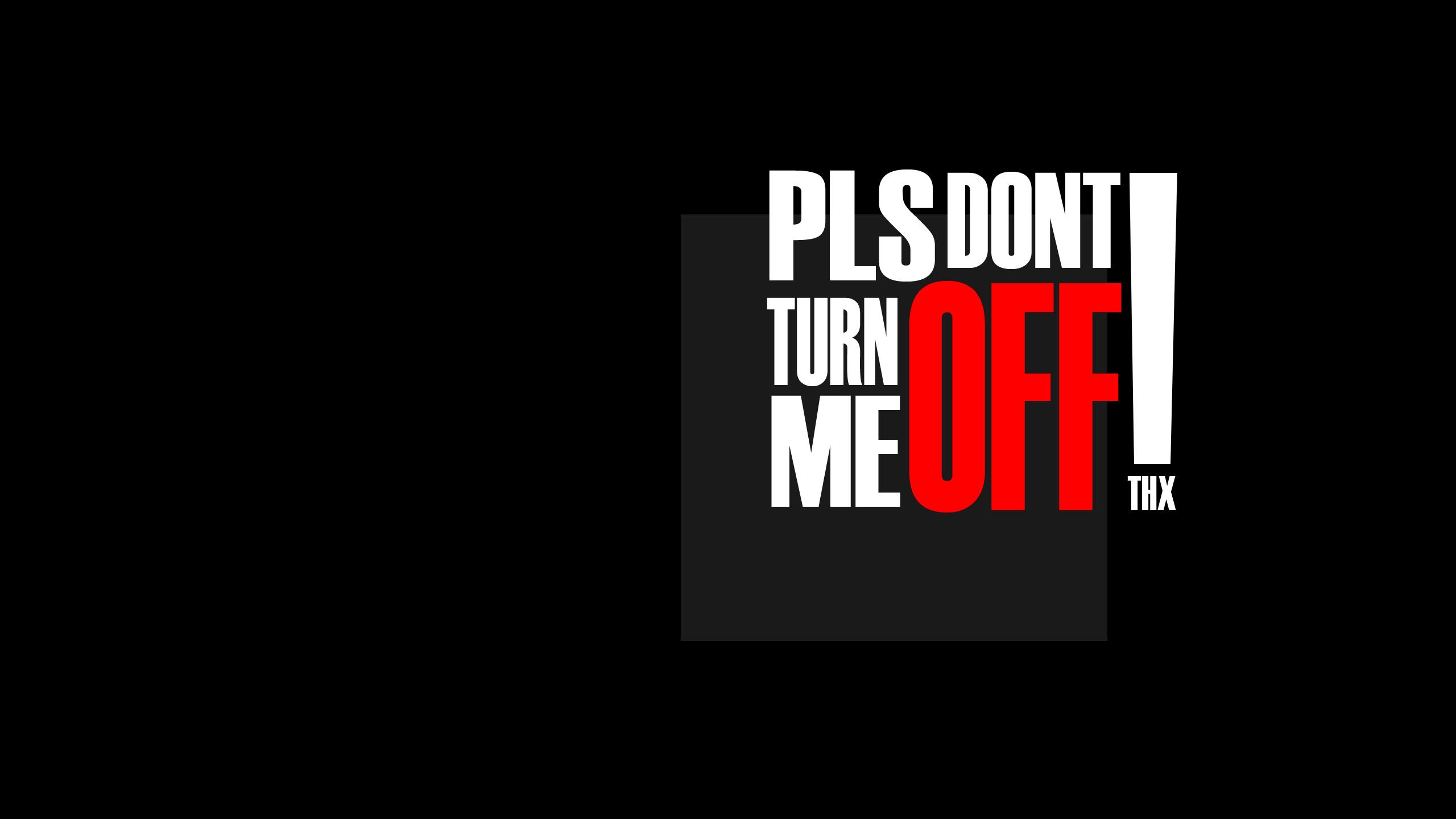 text warning black background - photo #9