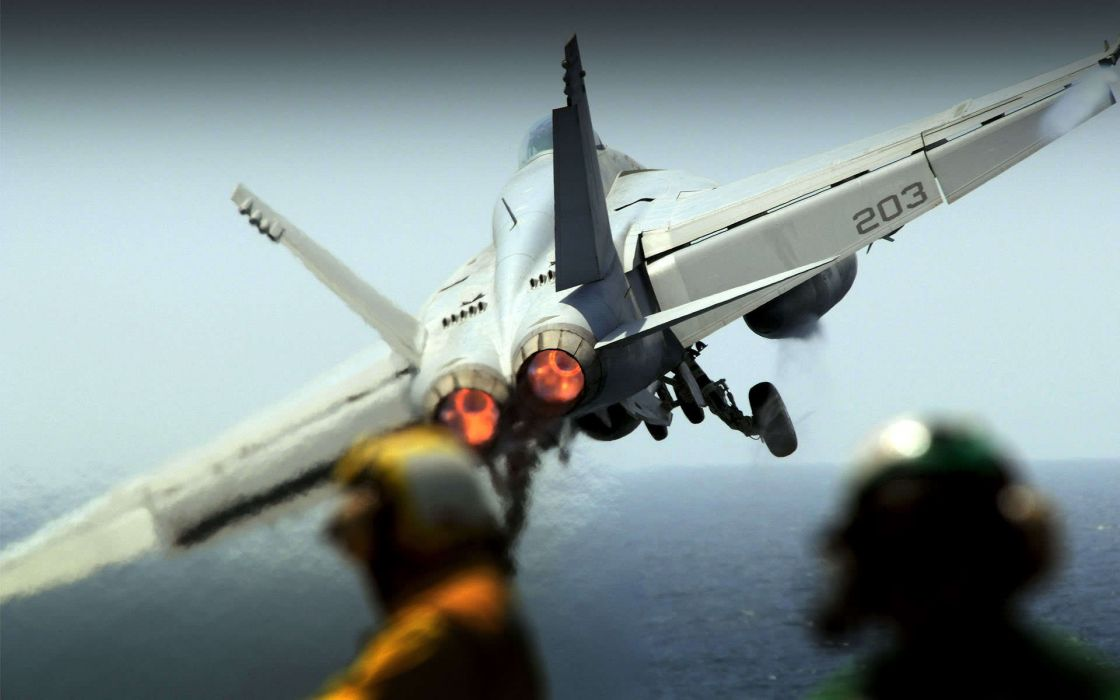 Airplanes navy vehicles aircraft carriers f-18 hornet fighter jet wallpaper
