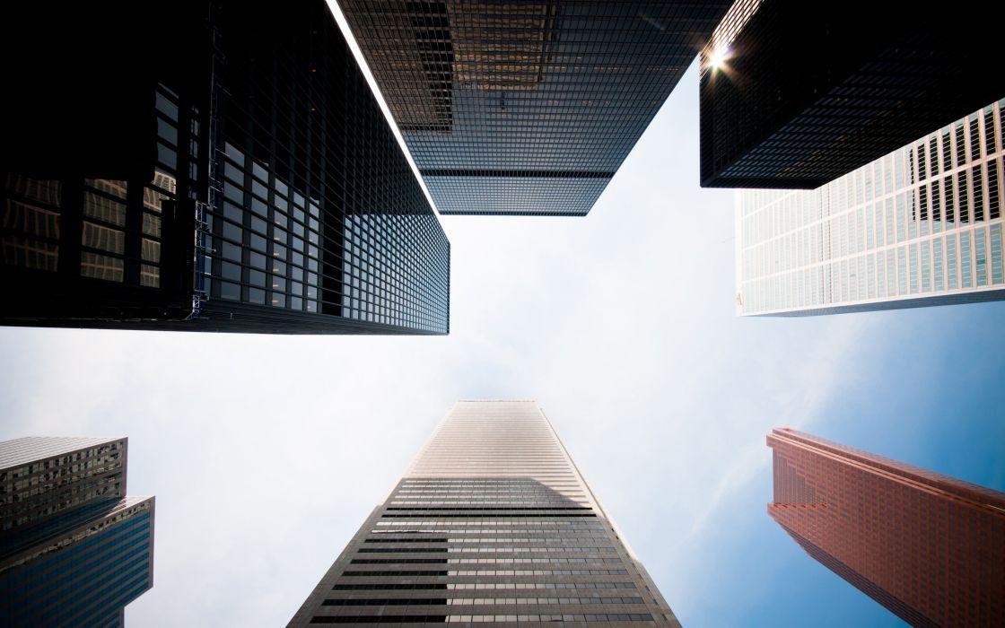 Cityscapes architecture skyscrapers wallpaper