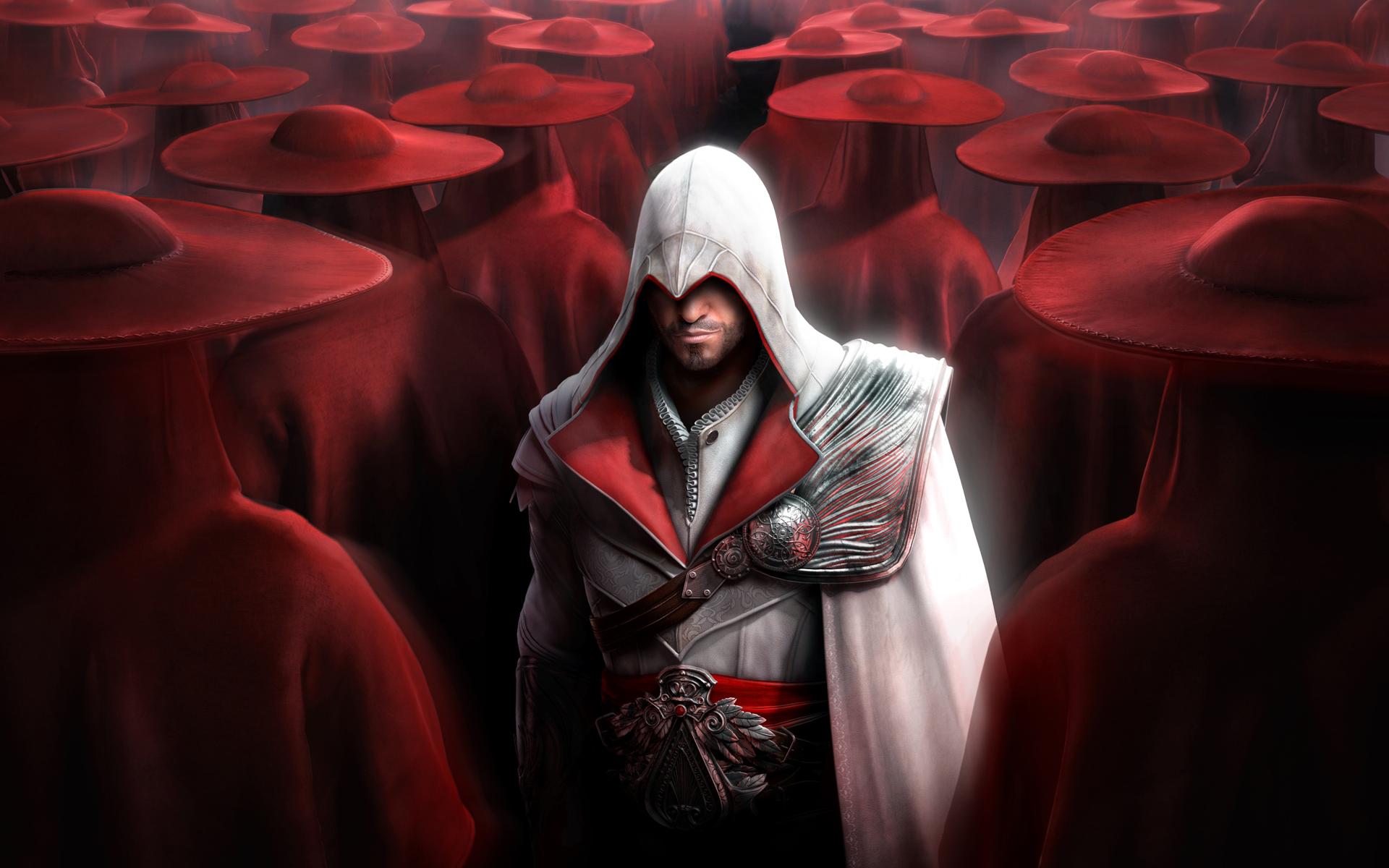 Ezio Assassins Creed Brotherhood Wallpaper 1920x1200 8611