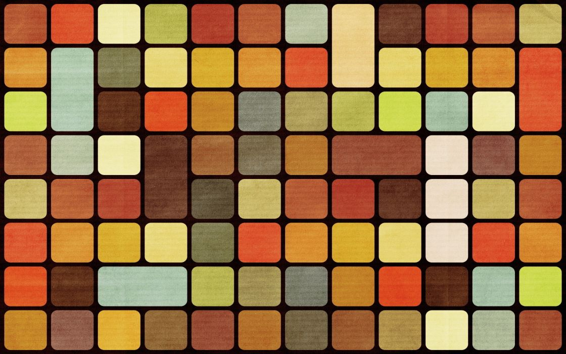 Abstract multicolor squares wallpaper