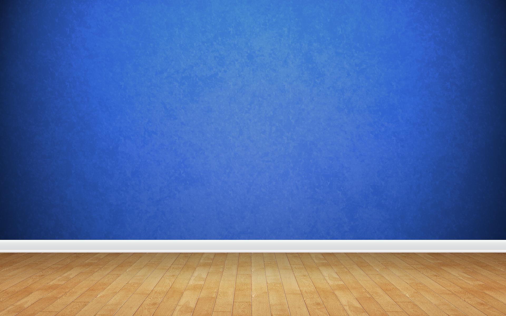 3d view blue minimalistic wall wallpaper 1920x1200 8635