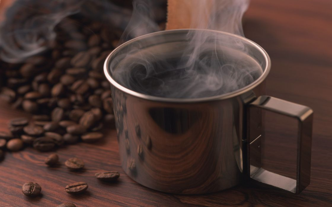 Steam coffee mug wallpaper