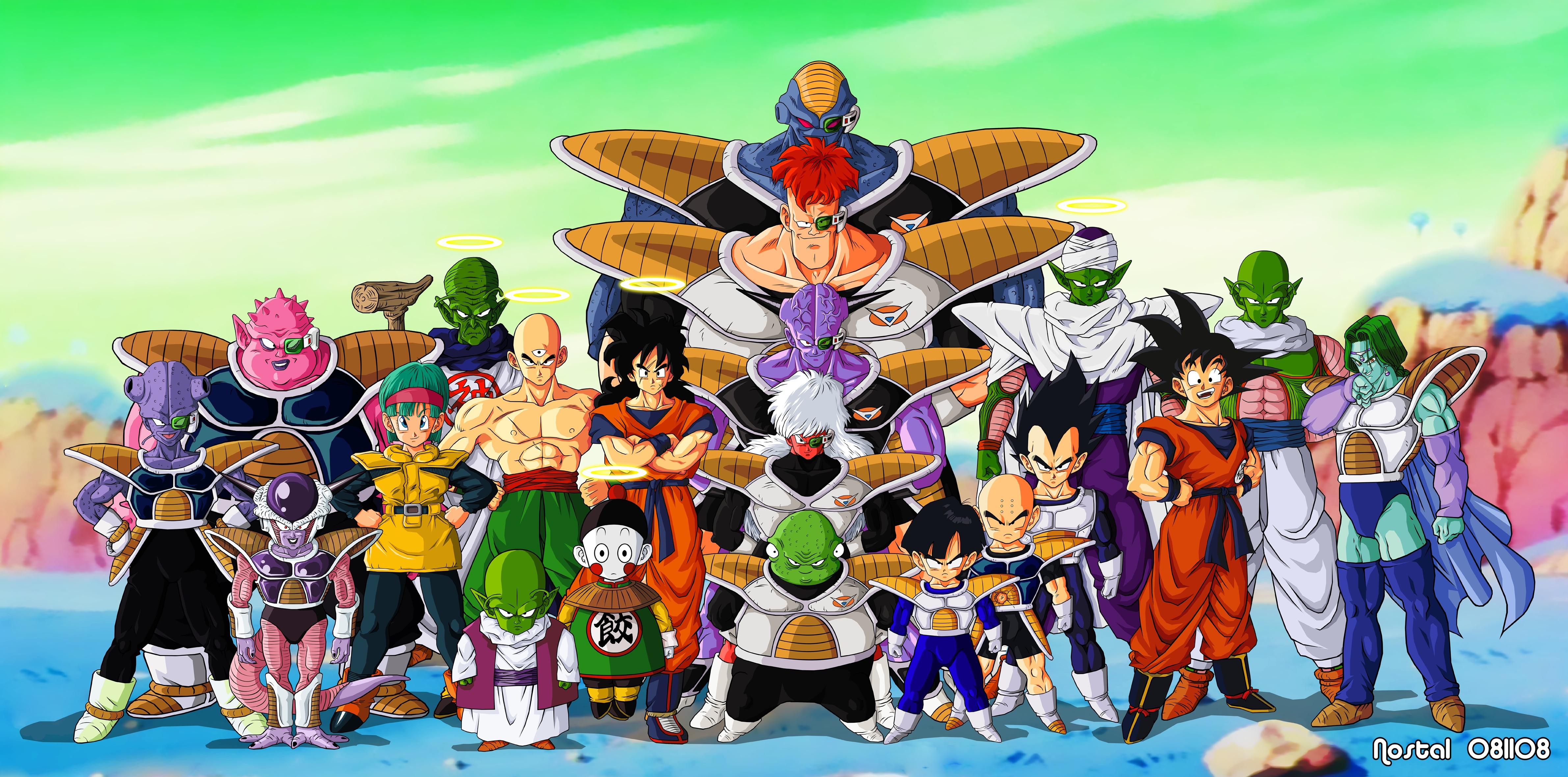 Vegeta Son Goku Frieza Anime Son Gohan Piccolo Dragon Ball Z