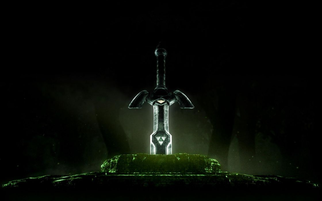 The legend of zelda master sword wallpaper