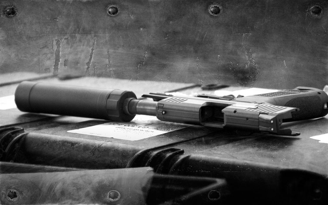 Guns swat monochrome swat kats usp tactical wallpaper
