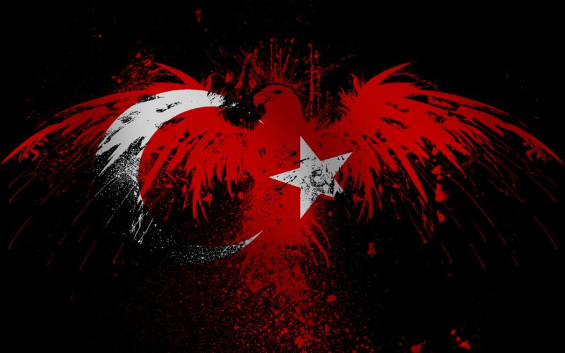 Eagles flags turkey wallpaper