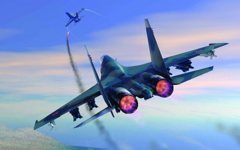 Aircraft battlefield wallpaper