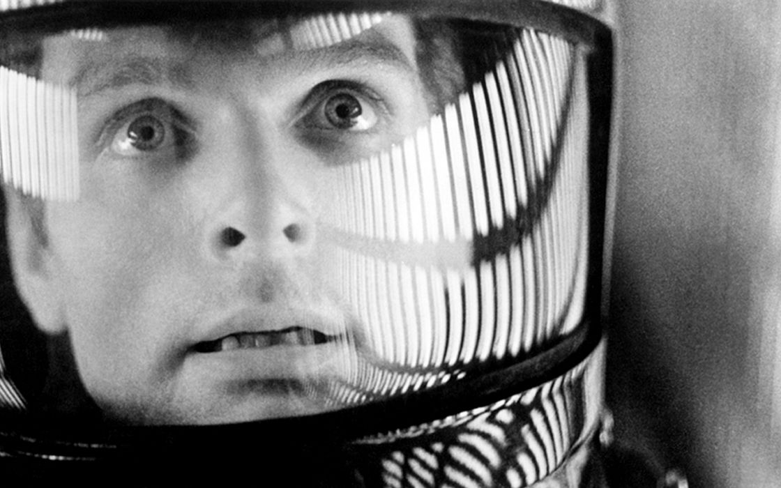 Movies grayscale 2001 a space odyssey wallpaper