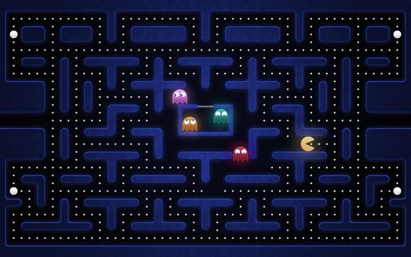 Video games funny old game pac-man nostalgia retro games wallpaper