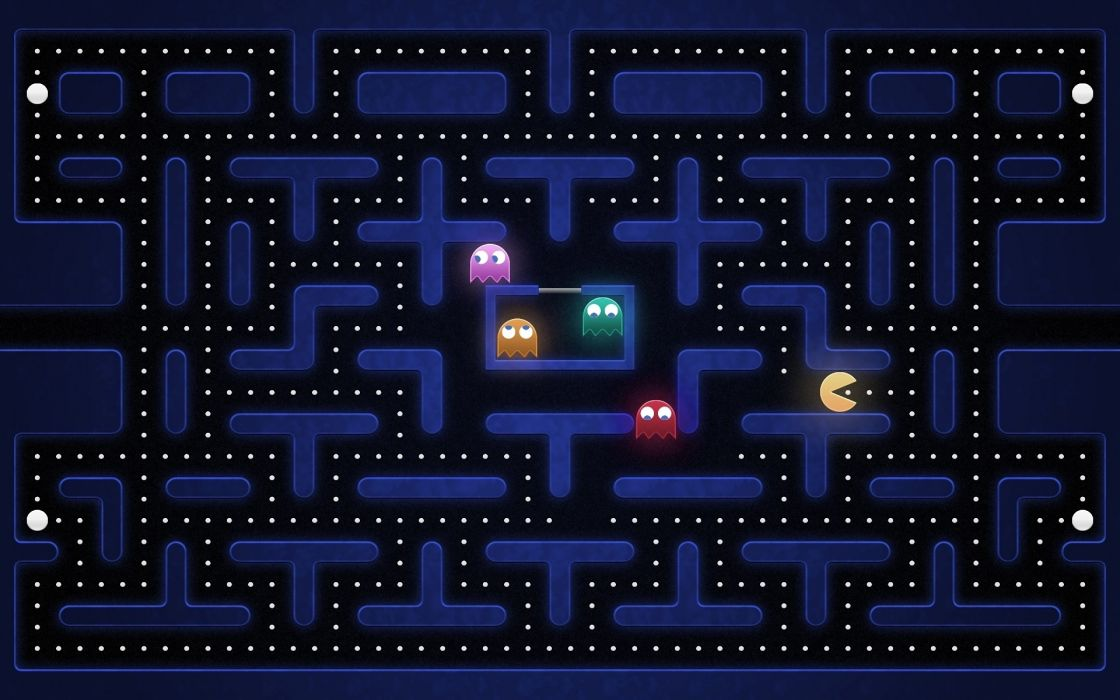 Video games funny old game pac-man nostalgia retro games wallpaper