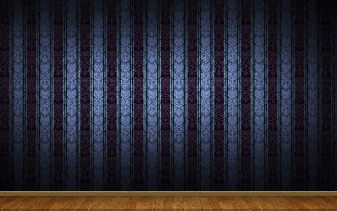 3D view minimalistic wall patterns wallpaper