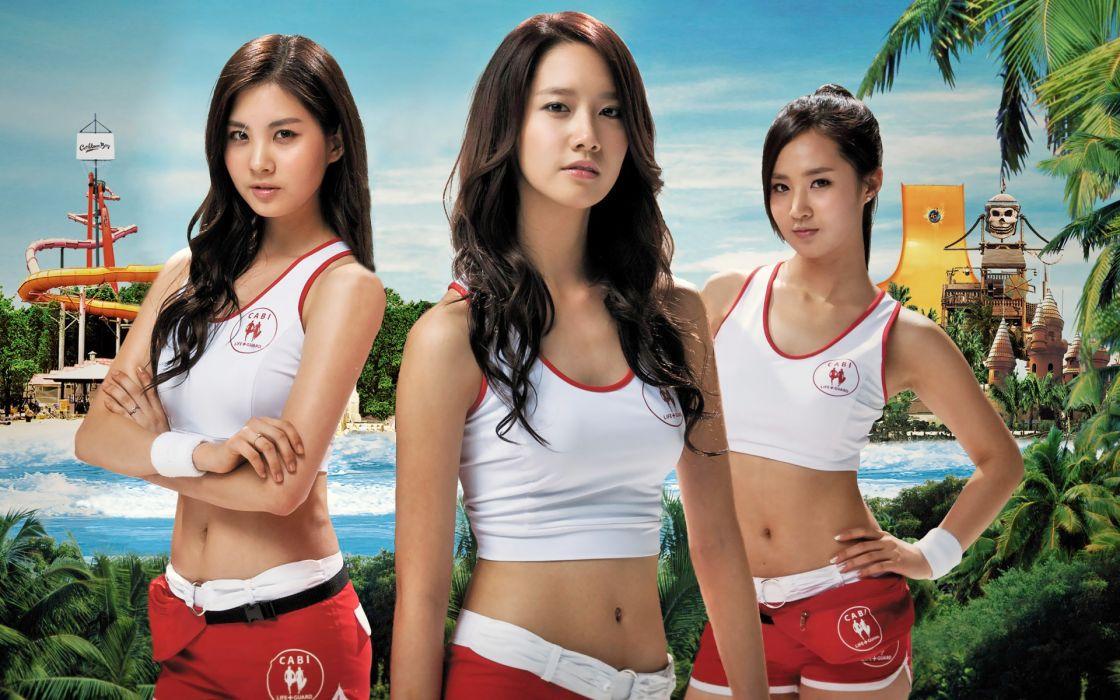 Women girls generation snsd celebrity asians seohyun korean singers kwon yuri im yoona wallpaper