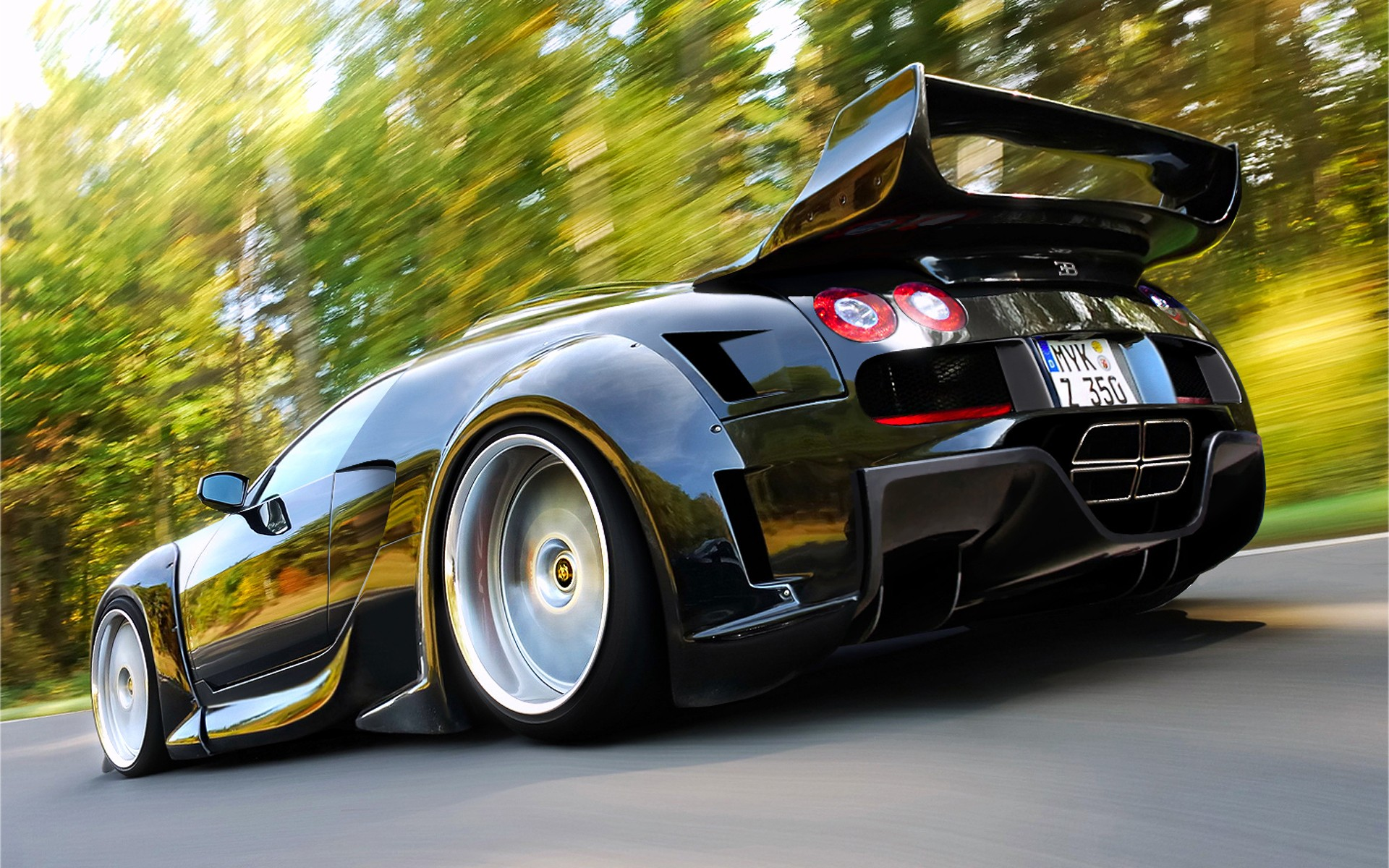 cars bugatti veyron vehicles supercars black cars low angle shot wallpaper 1920x1200 8914. Black Bedroom Furniture Sets. Home Design Ideas