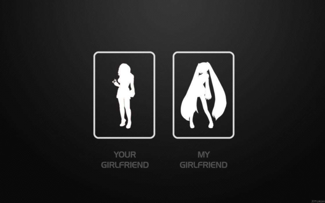 Vocaloid hatsune miku humor lolicon lolicore anime girls photomanipulations wallpaper