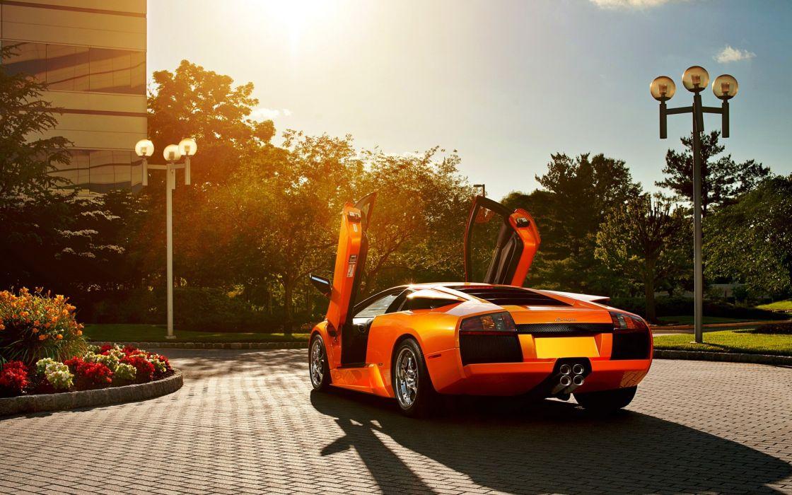 Cars sunlight vehicles lamborghini murcielago lamborghini murcielago lp640 orange cars exotic cars wallpaper