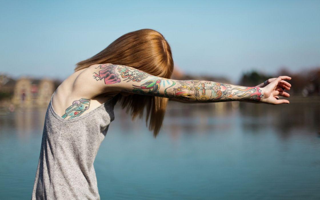 Tattoos women people wallpaper