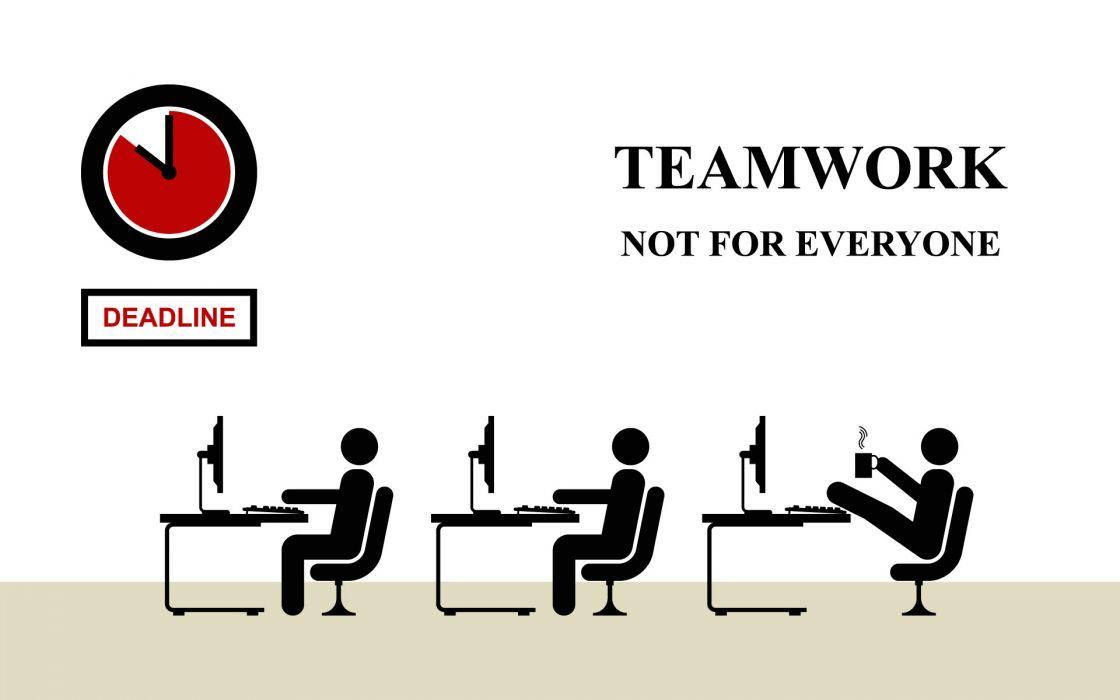 Work teamwork wallpaper