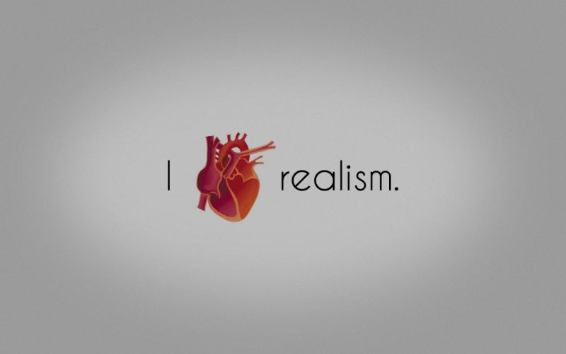 Minimalistic hearts realism wallpaper