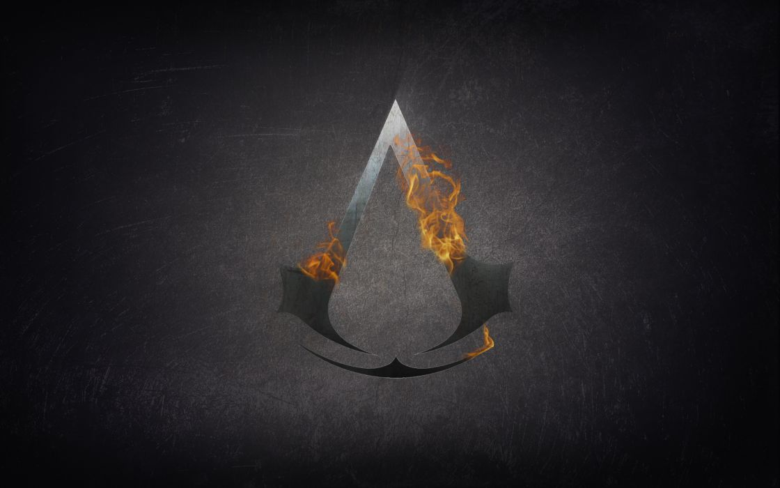 Assassin Assassins Creed Fire Symbol Logos Wallpaper 1920x1200