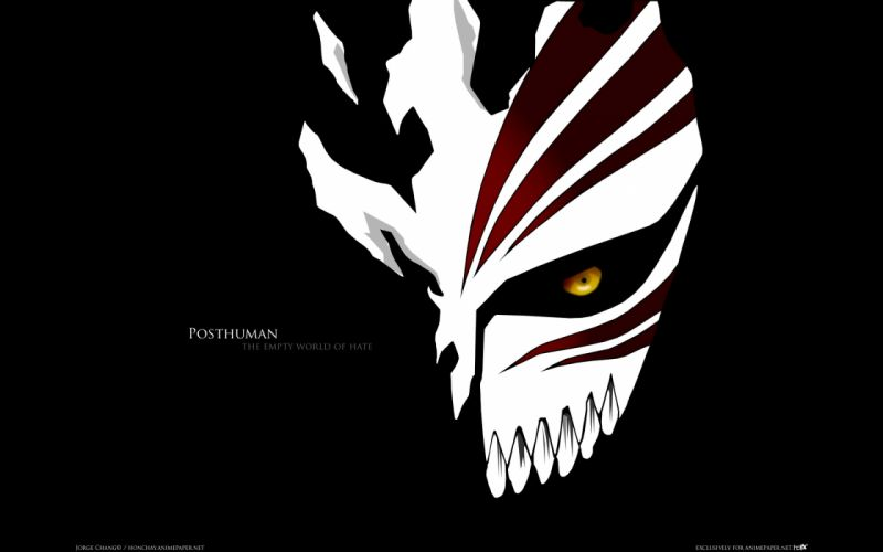 Bleach hate hollow mask wallpaper