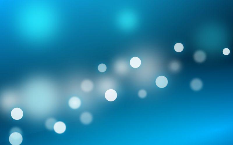 Abstract blue kde bokeh wallpaper