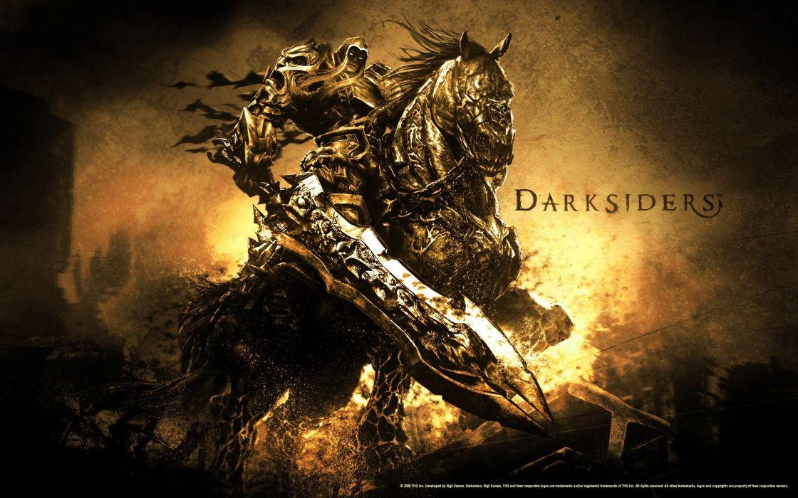 Video games darksiders wallpaper