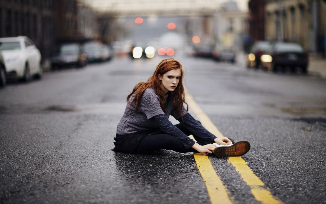 Women redheads models fashion freckles roads doc martens fashion model wallpaper