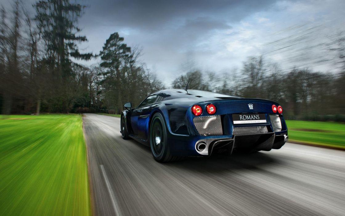 Cars motion blur noble noble m600 wallpaper